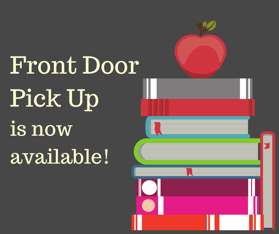 Words front door pick up is now available